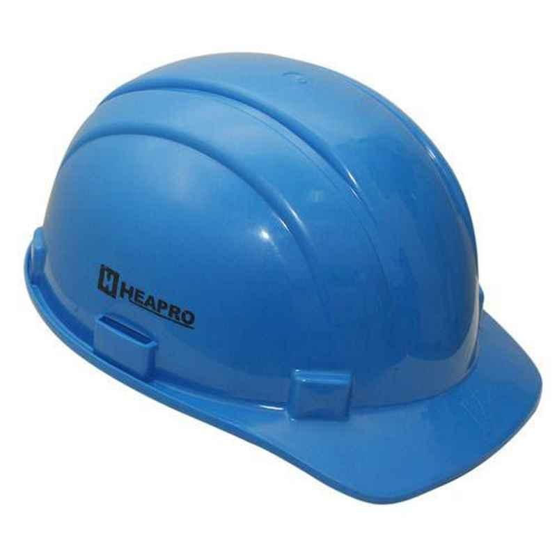 Heapro Blue Nape Type Safety Helmet, HSD-001 (Pack of 5)