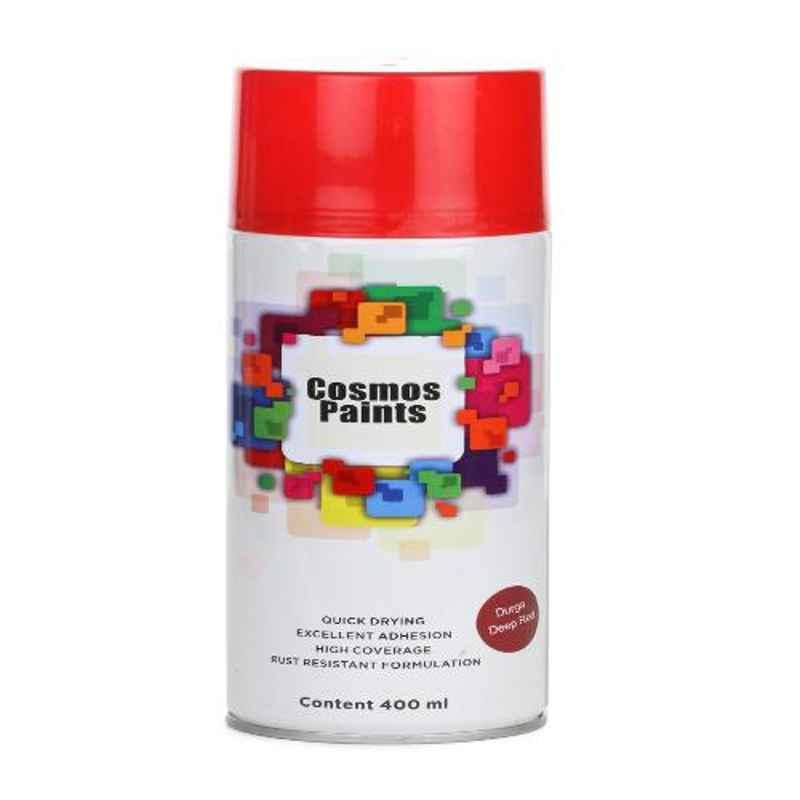 Cosmos 400ml Red Durga Deep Spray Paint (Pack of 6)
