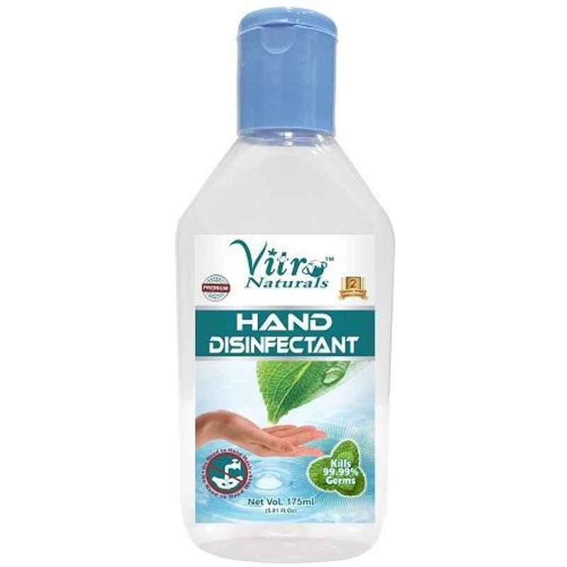 Vitro Naturals 175ml Hand Disinfectant, 89-04045-055792 (Pack of 100)