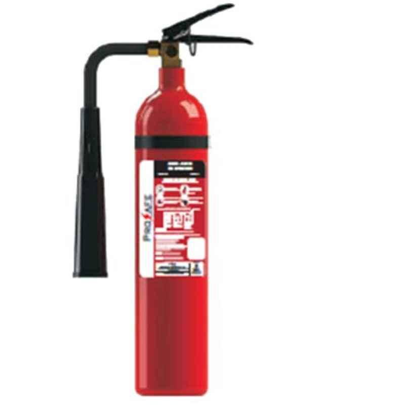 Prosafe 2kg Co2 Fire Extinguisher with ISI Mark, PRPQCO2-2