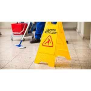 SSWW Yellow Wet Floor Caution Sign Board