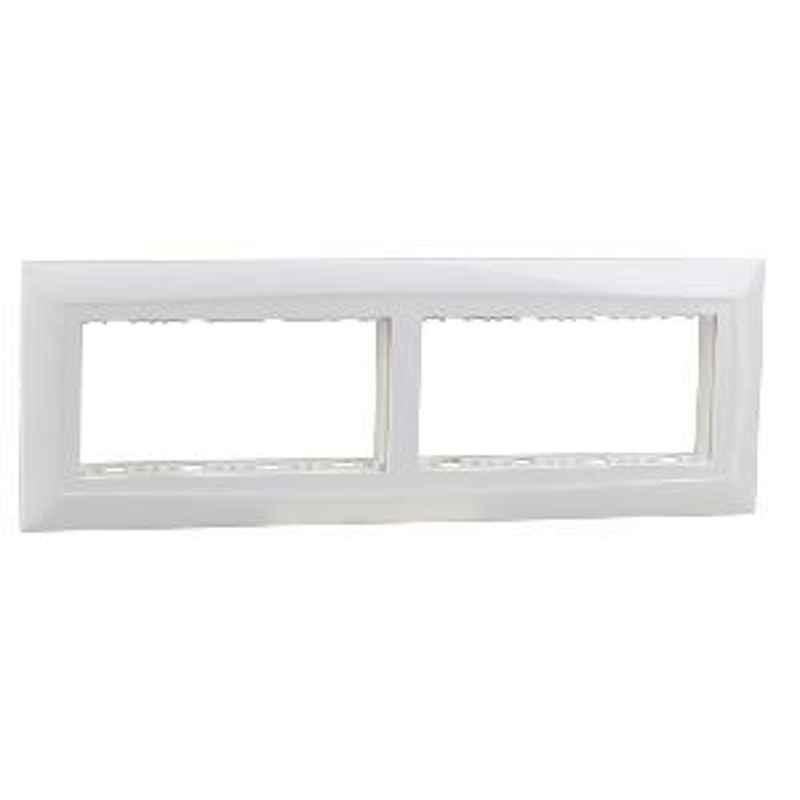 Legrand 8 Module Plate With Frame 673498
