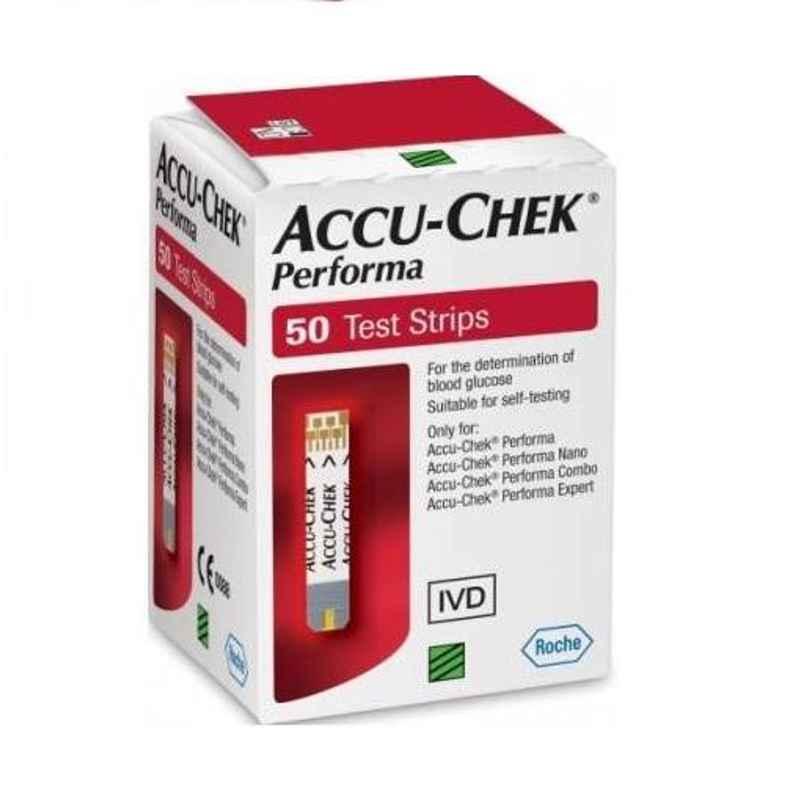 Accu-Chek Performa 50 Glucometer Test Strips