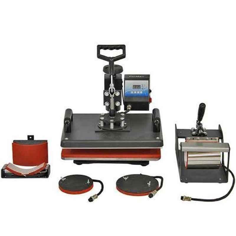 Semi-Automatic 5-in-1 Combo Heat Press Machine