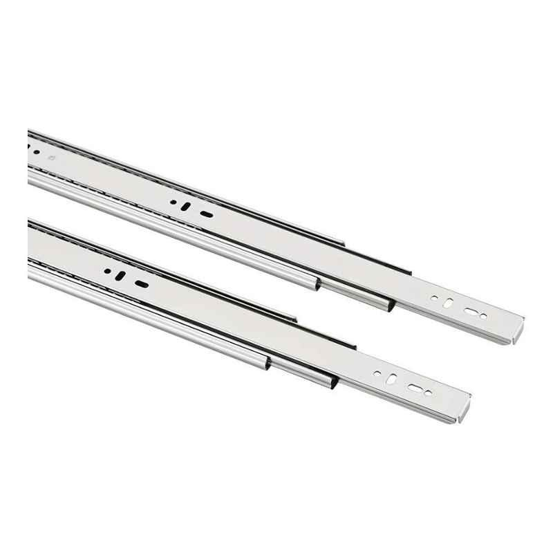 IPSA 24 inch 45kg Stainless Steel Ball Bearing Telescopic Channel Drawer Pair, 5075