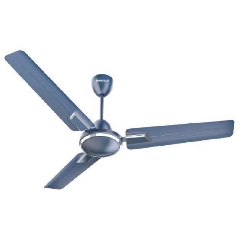 Havells Andria Indigo 1200mm Indigo Blue Ceiling Fan, FHCADSTIBL48
