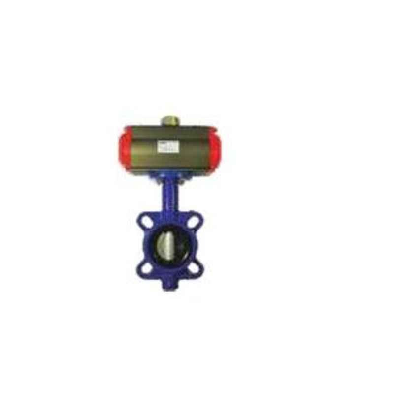 Akari SB370-16ZB7-125 Thread Size 5 Inch Actuator With Butterfly Valve