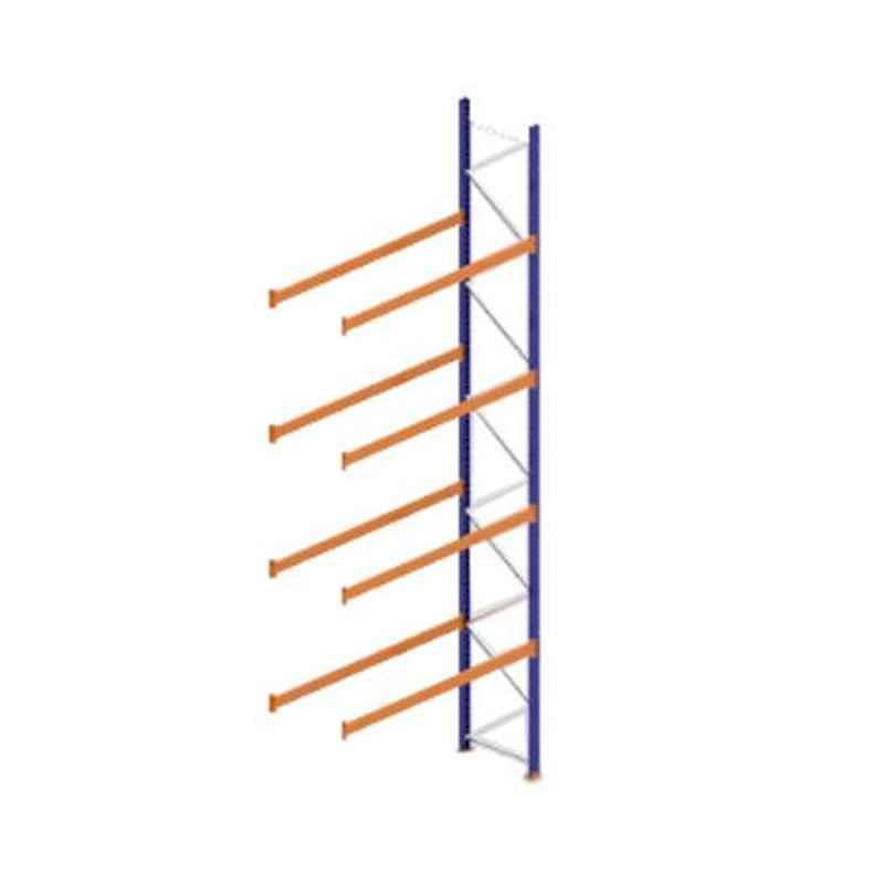 Godrej Ground Plus 4 Layers Steel Selective Pallet Racking, Max Load Capacity: 8000kg, Add on Unit: 7000x2300x1000mm (HxWxD)