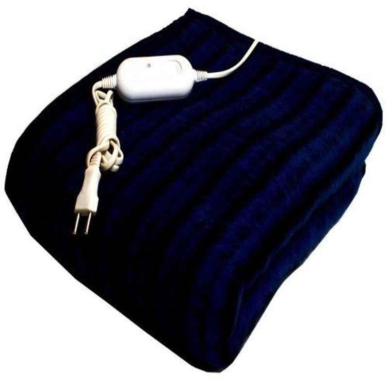 Odessey 75x150cm 80W Multicolour Single Bed Woolen Electric Blanket