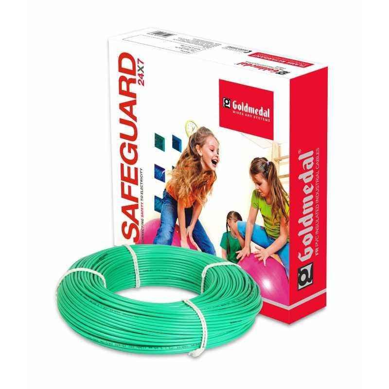 Goldmedal 180m 4 Sqmm Green FR PVC Wire