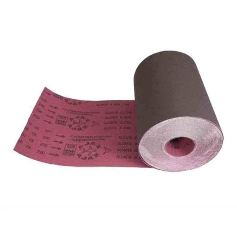 Cumi Ajax 100 Grit 150mm Aloxide Cloth Roll, Length: 50 m
