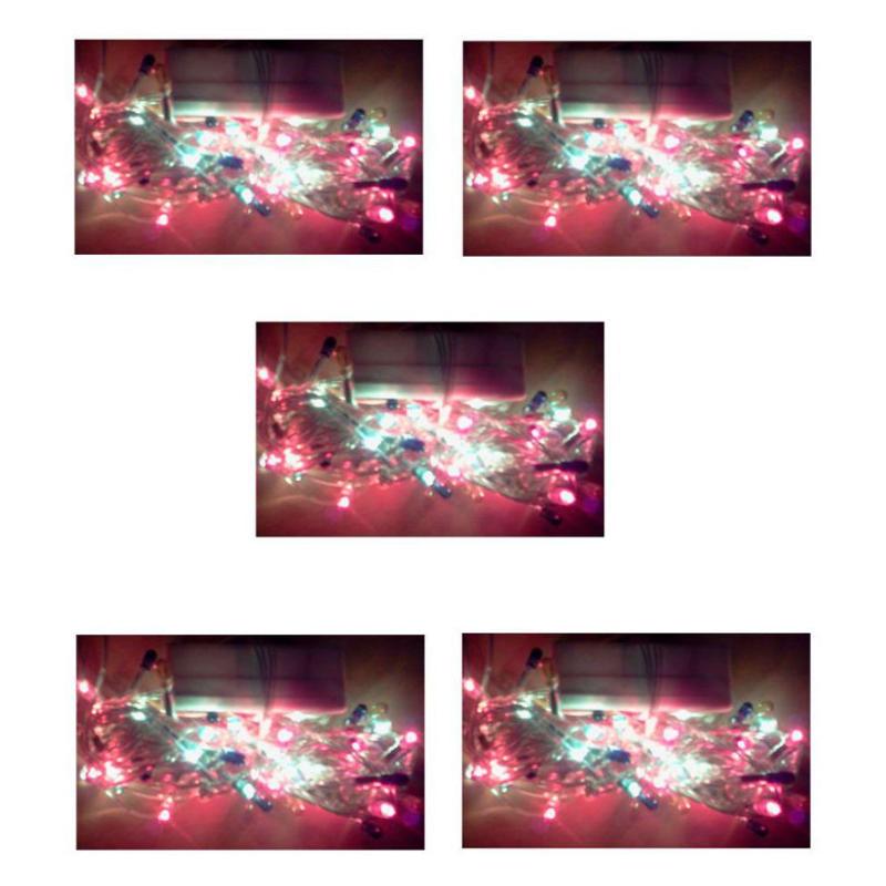 Ever Forever 4m Multicolour String LED Light (Pack of 5)
