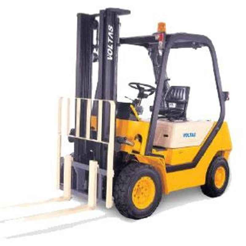 Voltas 2000kg 3 Stage Diesel Powered Forklift, DVX 20 FC BC HVT 2125