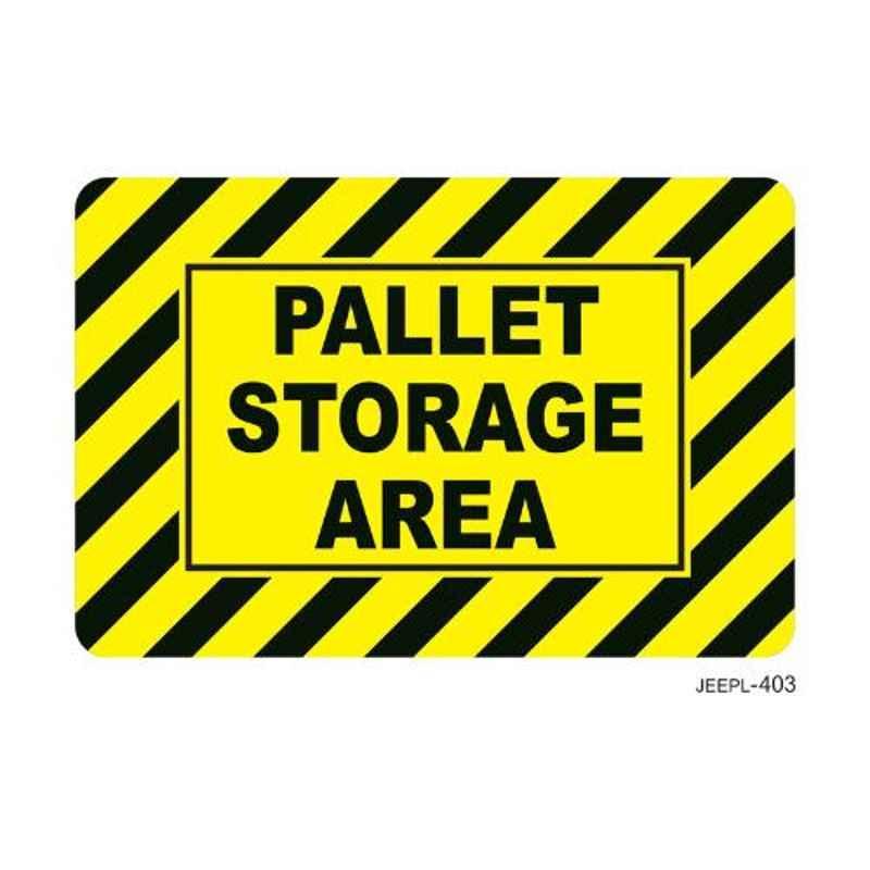Jeepl Pallet Storage Area Sticker, jeepl-403