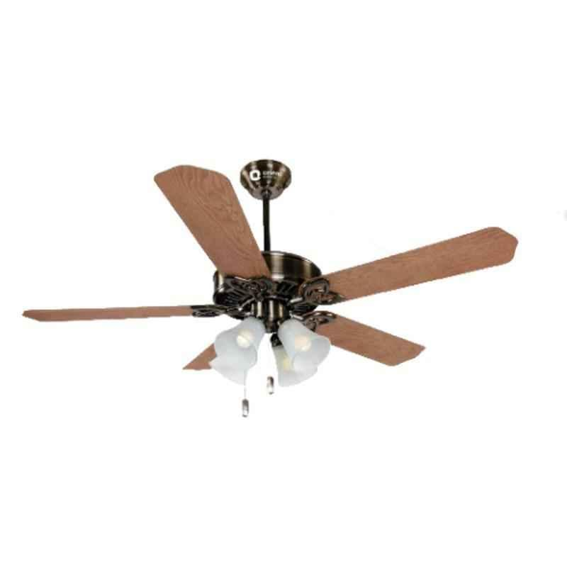 Buy Orient Subaris 80w Antique Copper Ceiling Fan With Under Light Sweep 1300 Mm Online At Best Price On Moglix