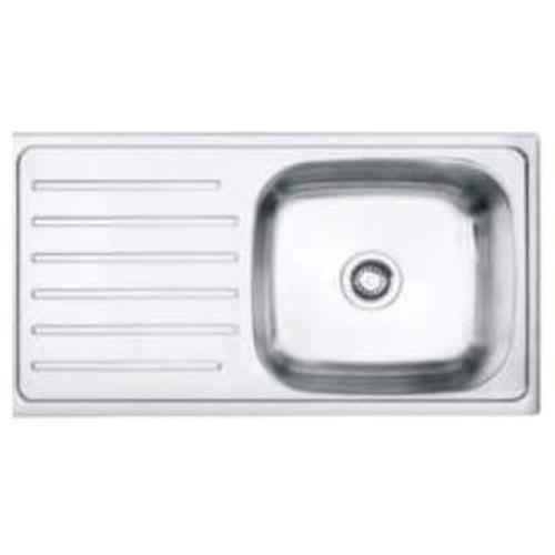 Buy Crocodile 37x18x8 Inch Single Bowl Stainless Steel Kitchen Sink With Drainboard Online At Price 3100