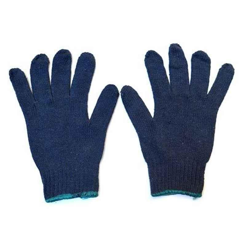Siddhivinayak 70g  Cotton Knitted Hand Gloves (Pack of 60)