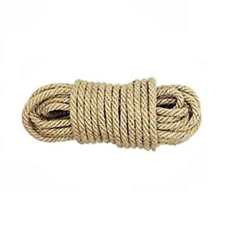 AOW Leg Guard Rope, Extra Long 28 Meters Long & Heavy Leg Guard Rope (BROWN) FOR Bullet Thunder Bird 500