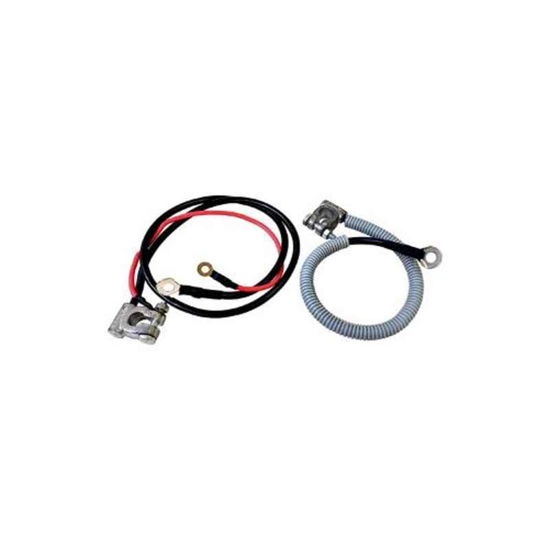 Saroop 2 Pcs Red & Black Maruti Car Battery Cable Set, SBC000021