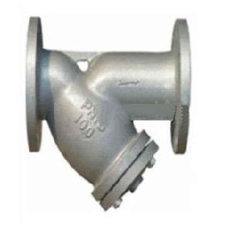 VALVEQUIP 200mm Cast Steel Flanged Ends Y Type Strainer VQ-80.2