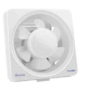 Lazer Exotica N/S 200W White Exhaust Fan, Sweep: 200 mm