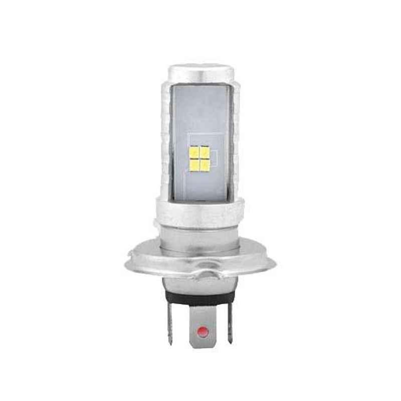 AllExtreme EXH4B1P 9W 12V 900lm Premium Quality HJG H4 High Brightness COB LED Head Lamp Bulb