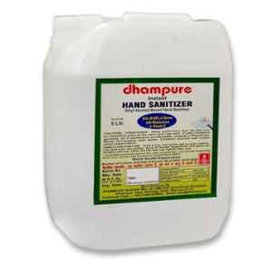 Dhampure 5L 80% Ethyl Alcohol Based Liquid Instant Hand Sanitizer