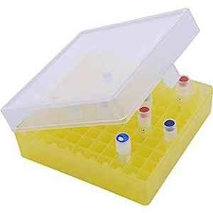 Abdos 4Pcs 100 Slots White Storage Cubes, P20607 W