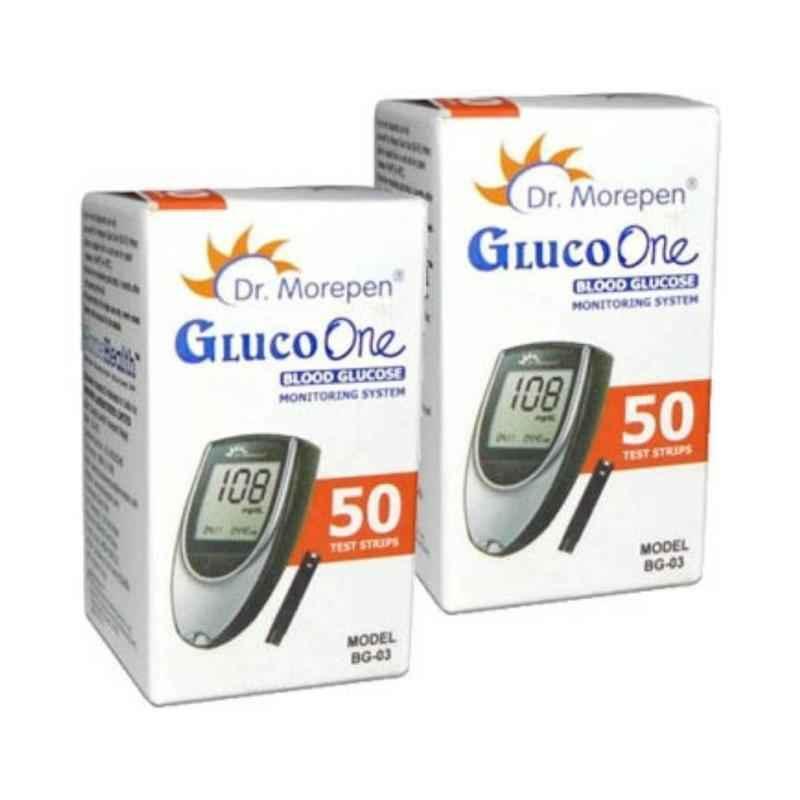 Dr. Morepen Gluco One(BG 03) 100 Strips