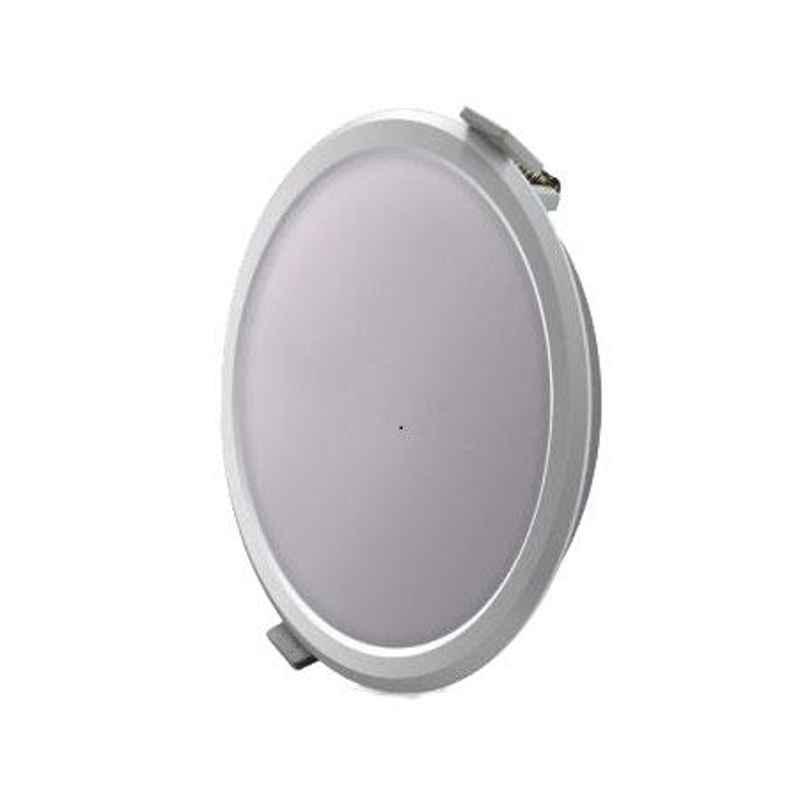 Syska 8W Warm White Round LED Downlight, SSK-RDL-R-8W