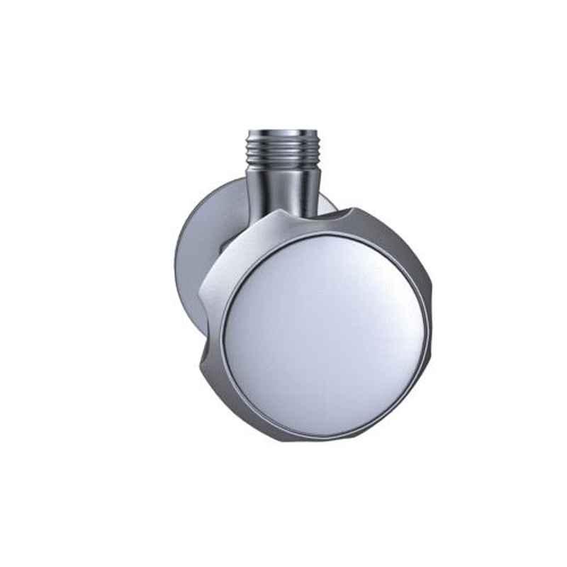 Hindware Contessa Plus Brass Chrome Finish Light Angular Stopcock, F330043CP, (Pack of 2)