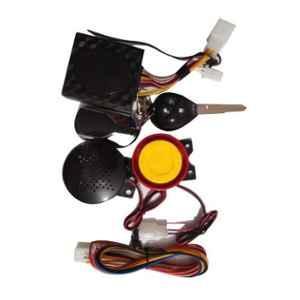 JBRIDERZ Black Bike Voice Assist Central Locking Alarm System Remote