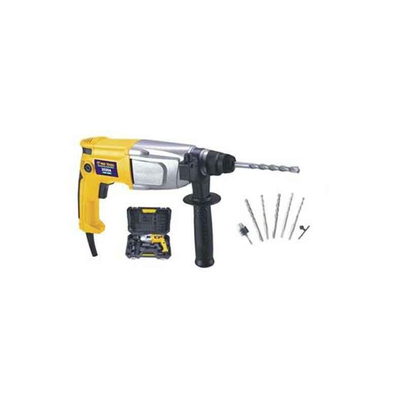 Pro Tools 20mm 700W Ergonomically Designed Rotary Hammer Drill, 2020 A
