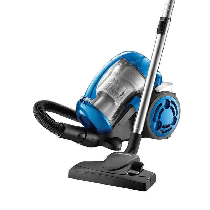 Black+Decker 2000W Bagless Blue Cyclonic Vacuum Cleaner, VM2825
