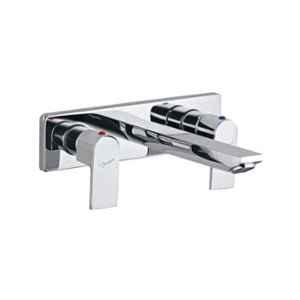 Jaquar Lyric Graphite Two Concealed Stop Cocks with Basin Spout, LYR-GRF-38433