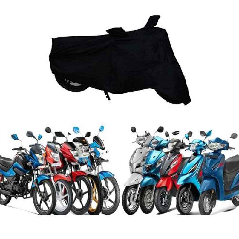 Zeeko Black Bike Body Cover for Honda CB Twister