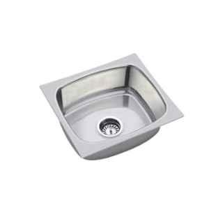 Rigwell Lifetime 45x120x8 inch Hi Gloss Stainless Steel Single Bowl Kitchen Sink