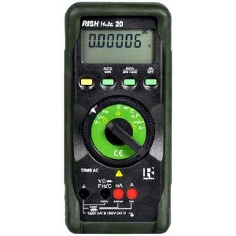 Rishabh multi 20 Digital Multimeter AC Volt 10µV to 1000V
