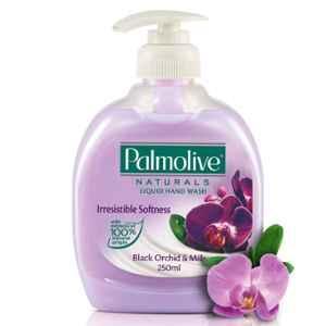 Palmolive 250ml Black Orchid & Milk Naturals Liquid Hand Wash (Pack of 2)