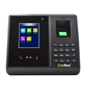 Biomax N-BM70W Pro Biometric Time Attendance Machine with Face Reader