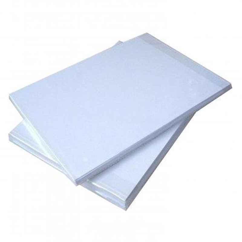 A4 Size Plain & White Sublimation Paper, GSM: 108