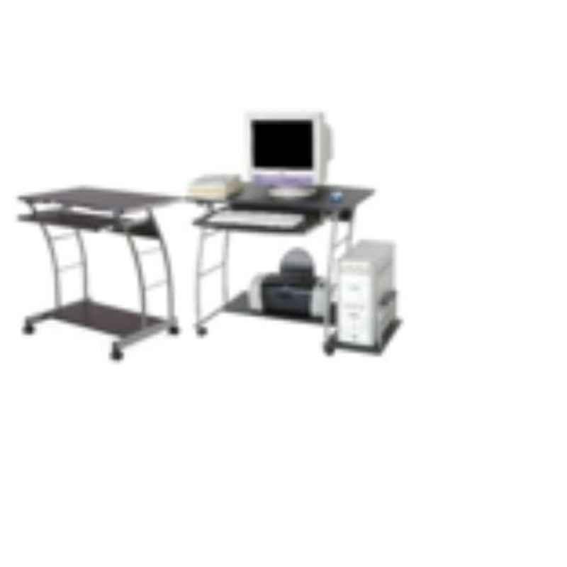 Suwas 60x40x85cm Steel & Wood Desktop Table, SU-DESKT-002