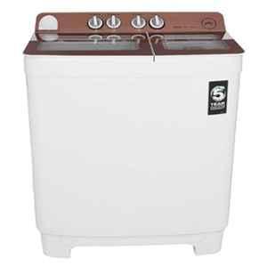 Godrej 10.2kg Semi Automatic Top Load Washing Machine, WS Edge NX 1020 CPBR RS GD