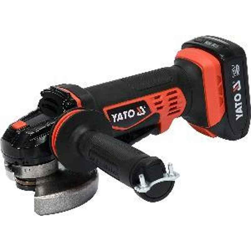 Yato 10000rpm Battery Operated Cordless Angle Grinder YT-82825