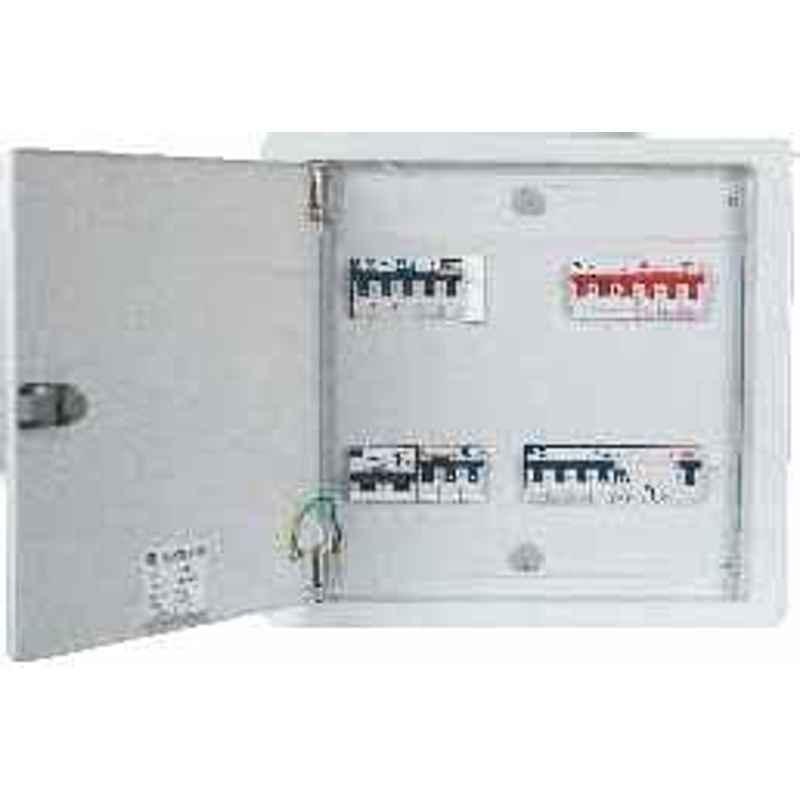 C&S CSDBTPNHDD06 06 Way Double Door TPN Distribution Board - Horizontal