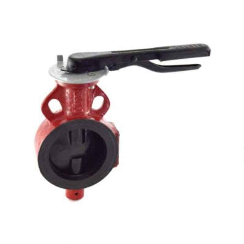 Zoloto 125mm Wafer Type PN 2.5 Butterfly Valve with S.G Iron Disc, 1078G