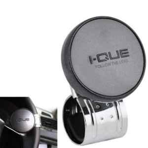 AllExtreme EXBWSU1 33mm Grey Wooden Finish Steering Wheel Spinner Knob