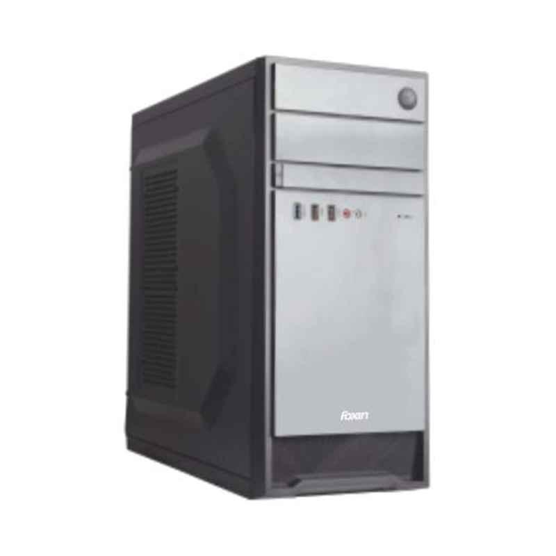 Foxin 3S-SHADE Aesthetic Black Mid Tower PC Cabinet with SMPS