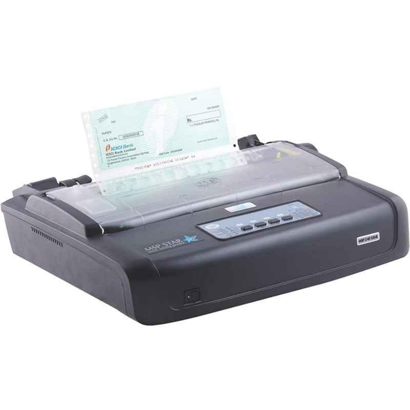 TVS MSP 240 Star Black Dot Matrix Monochrome Printer