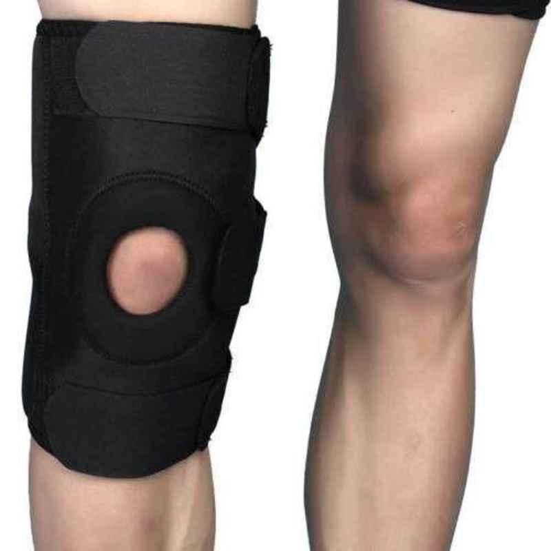 Witzion Medium Functional Black Knee Support, WI-5-BLACK-M